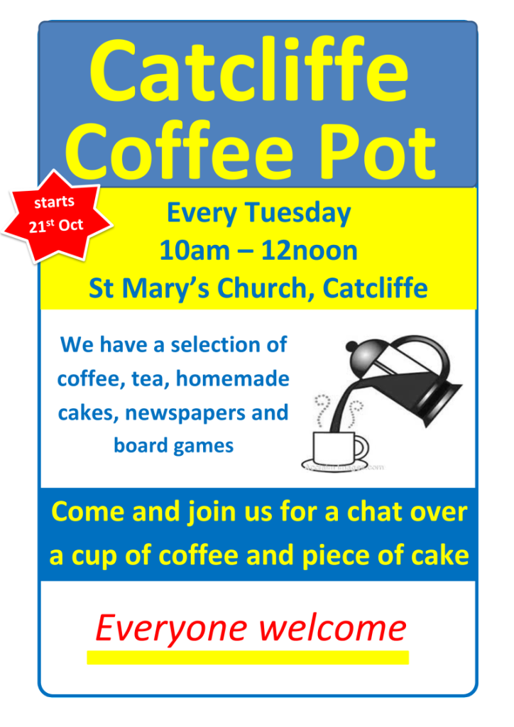 Coffee Morning St Marys